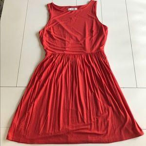 NWT LOFT Bright Orange Dress - Size Large